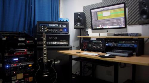 clases de musica, guitarra, bajo, audio y grabación. luthier