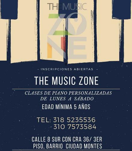 clases de música personalizadas y semi personalizadas