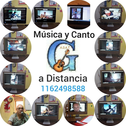 clases de música y canto a distancia