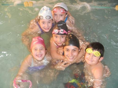 clases de natación a domicilio!