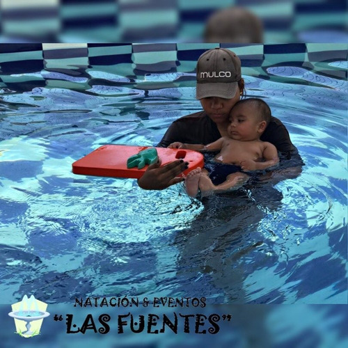clases de natación para bebes y niños - natación las fuentes