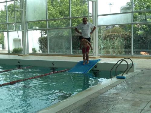 clases de natación privadas a domicilio