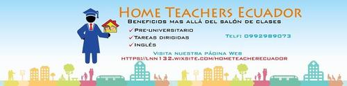 clases de nivelación física,química,matemática, inglés y bi