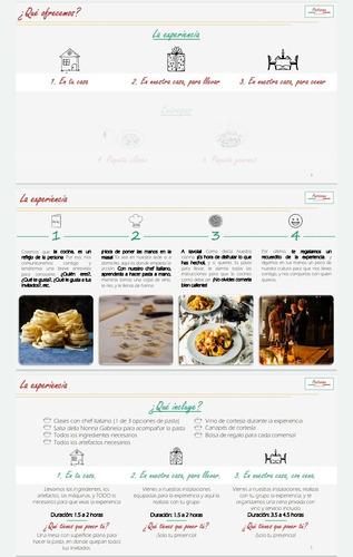 clases de pasta hecha a mano y pedidos de pastas y salsas.