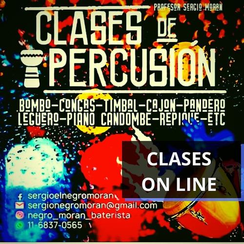 clases de percusion on line