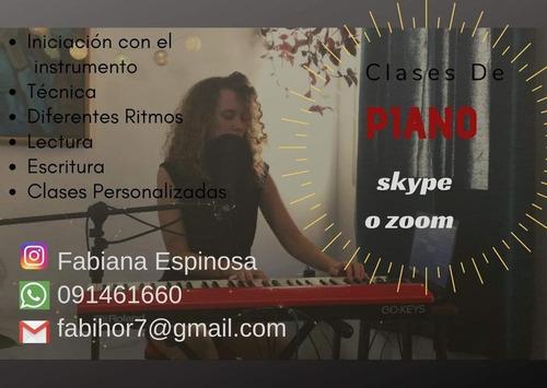 clases de piano a domicilio para principiantes