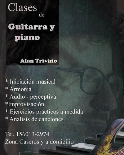 clases de piano en caseros, bs as