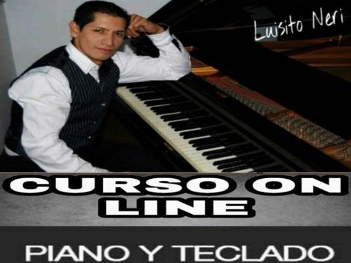 clases de piano o teclado on line