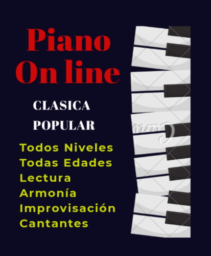 clases de piano - on line