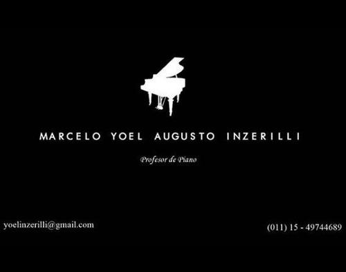 clases de piano online - virtuales (011) 15-49744689