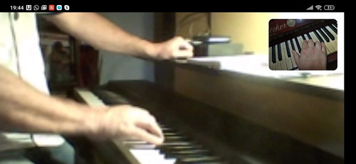 clases de piano, órgano, teclado / zona once y online
