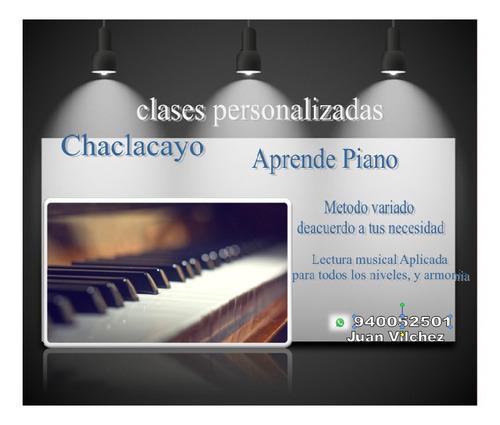 clases de piano por meet o sky