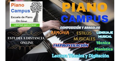 clases de piano / teclado en video - 10  lecciones completas