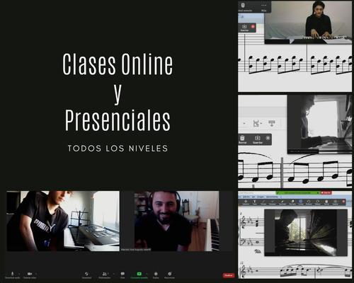 clases de piano / teclado / teoría musical online presencial
