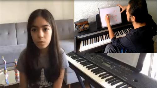 clases de piano virtuales, análisis y transcripciones