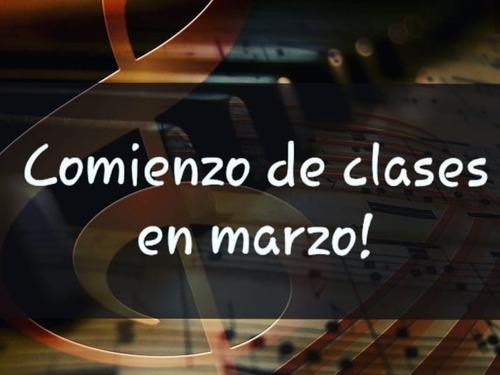 clases de piano y organo