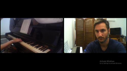clases de piano y teclado - online