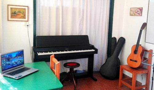clases de piano y teclado ukelele guitarra batería y otros