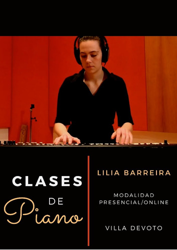 clases de piano/teclado. presencial/online. villa devoto.