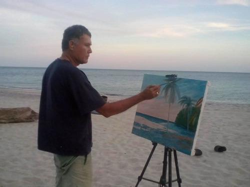 clases de pintura al oleo al natural