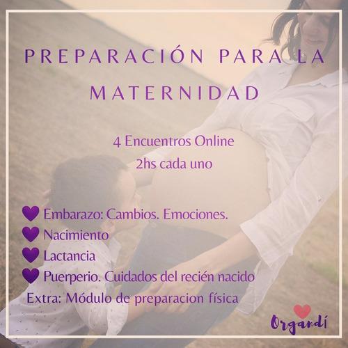 clases de preparacion al parto, modalidad online