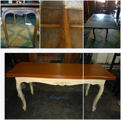 clases de restauracion de muebles, tapizado y carpinteria
