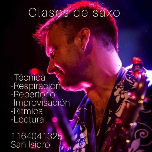 clases de saxo villa adelina - zona norte - online