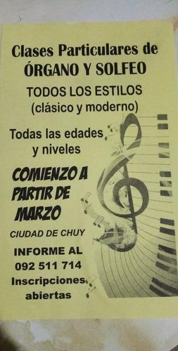 clases de teclado (órgano)