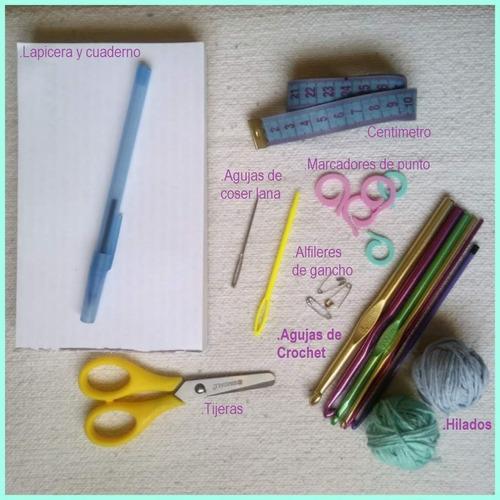 clases de tejido crochet online