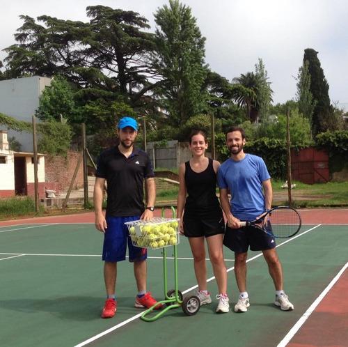 clases de tenis - ambos sexos - damas y caballeros