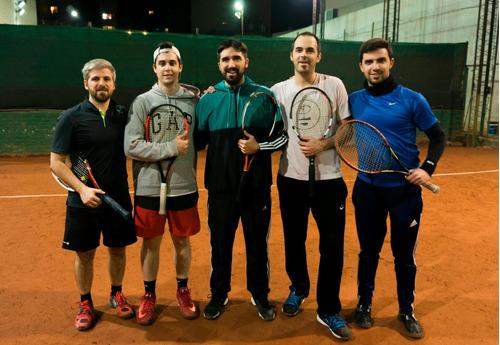 clases de tenis en caballito - todos los niveles y edades