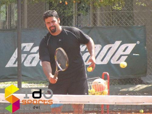 clases de tenis en edificios o clubes a coord. encordados