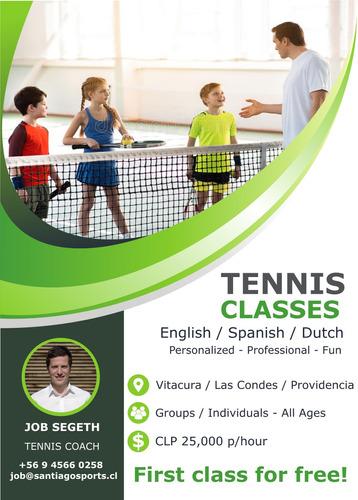 clases de tenis para niños y adultos