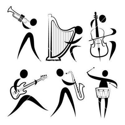 clases de violín, saxo, piano, guitarra, batería, flauta y +