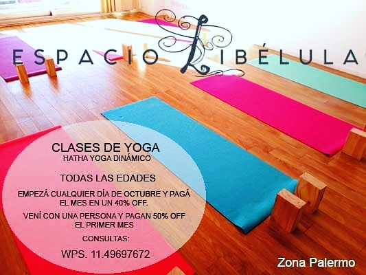 Clases De Yoga En Palermo - en Mercado Libre aed56c74cfac