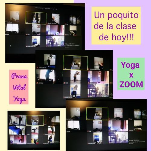 clases de yoga online prana vital