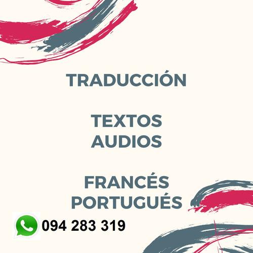 clases francés/portugués/español traducciones