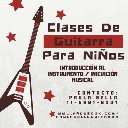clases guitarra música