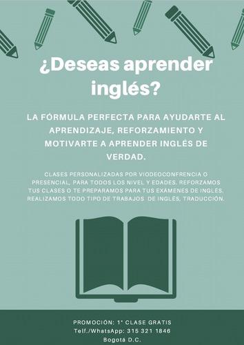 clases inglés asesoría idiomas