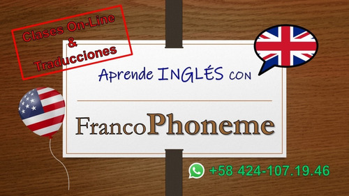 clases inglés on-line y traducciones