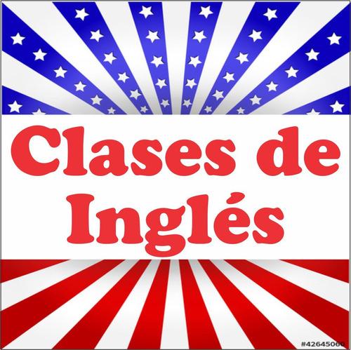 clases inglés personalizadas / profesor / por skype