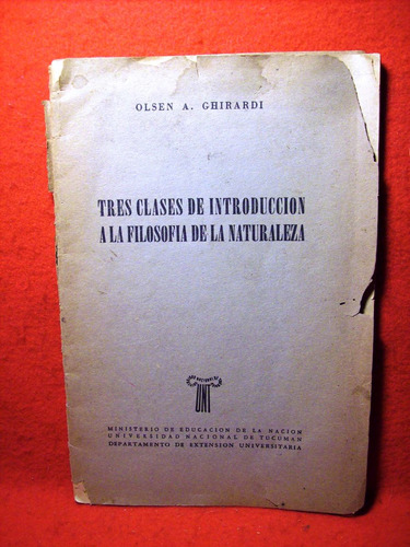 clases introducción filosofía naturaleza olsen ghirardi 50'