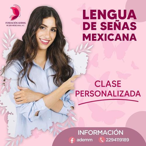 clases lengua de señas mexicana en línea