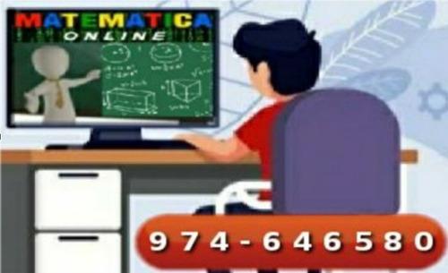 clases matemática profesor resuelve ejercicio tarea whatsap