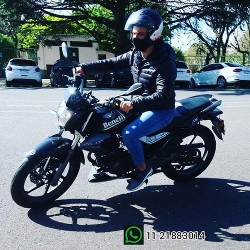 clases moto principiantes caba, alquiler 150cc roca, vte lop