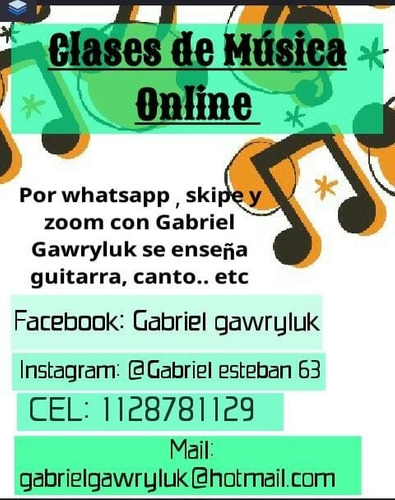 clases musicales