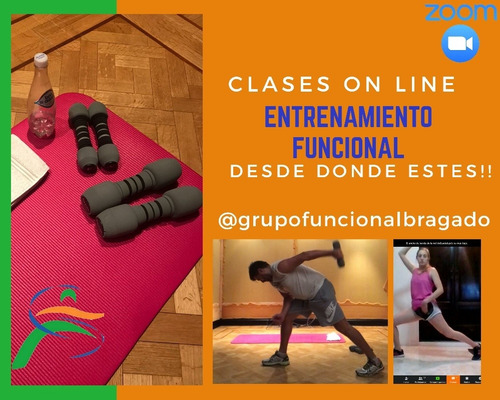clases on líne entrenamiento funcional