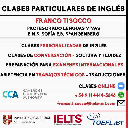 clases online de inglés con profesor nativo eeuu - bilingüe