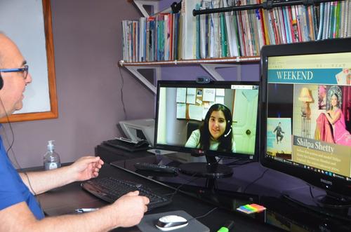clases online de inglés -profesor nativo.