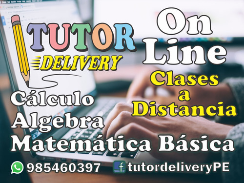 clases online de matemática básica álgebra cálculo